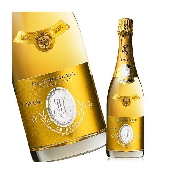 ワイン スパークリング ルイ・ロデレール・クリスタル'08 (ACシャンパーニュ 白 発泡) シャンパン シャンパーニュ 送料無料