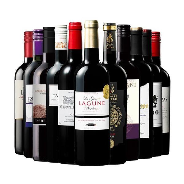 ワイン 赤ワインセット ( 実質 送料無料 クーポン 配布中 ) 世界の 赤ワイン 選りすぐり11本セット