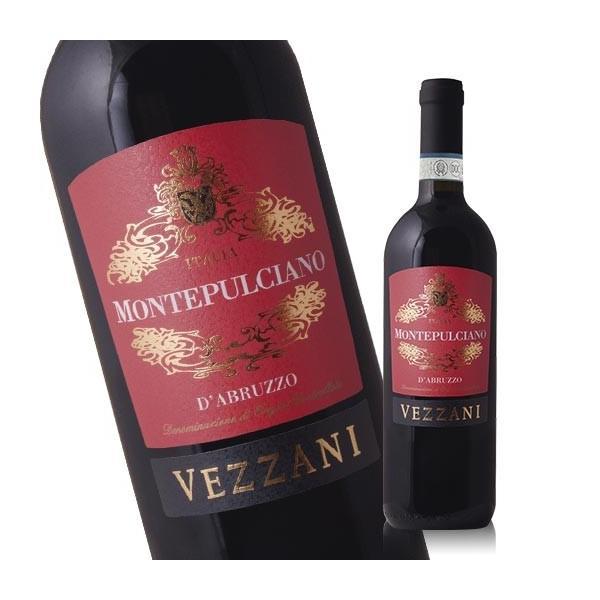 ワイン 赤 ヴェッザーニ・モンテプルチアーノ・ダブルッツォ DOCモンテプルチアーノ・ダブルッツォ 750ml
