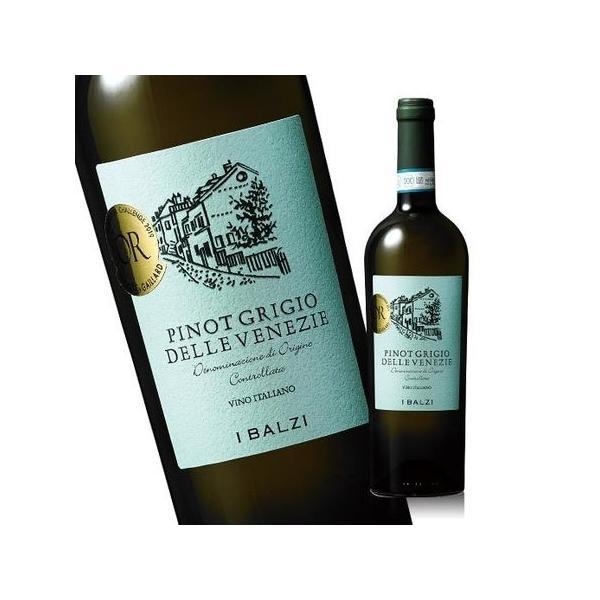 ワイン 白 イバルジ・ピノグリージョ・デッレ・ヴェネツィア'18 DOC 白 辛口 750ml