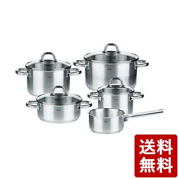 Fissler (フィスラー) 鍋セット コルフ 5点セット|n-kitchen