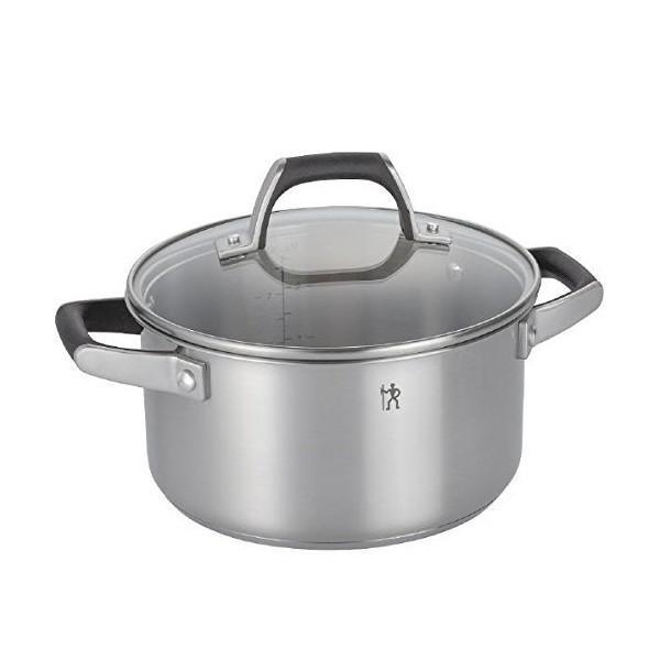ツヴィリングJ.A.ヘンケルス HI スタイルベーシック 両手鍋 蓋付き 20cm 40582-200 n-kitchen