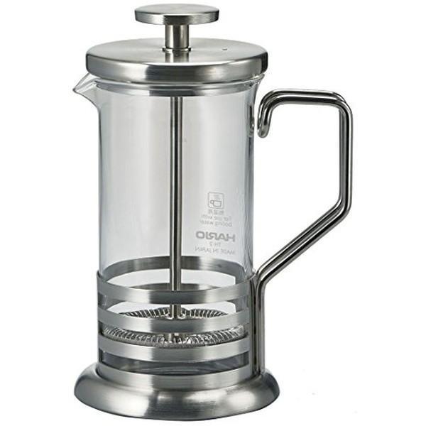 HARIO (ハリオ) ハリオール・ブライトJ プレス式 2杯用 ステンレス THJ-2-HSV n-kitchen