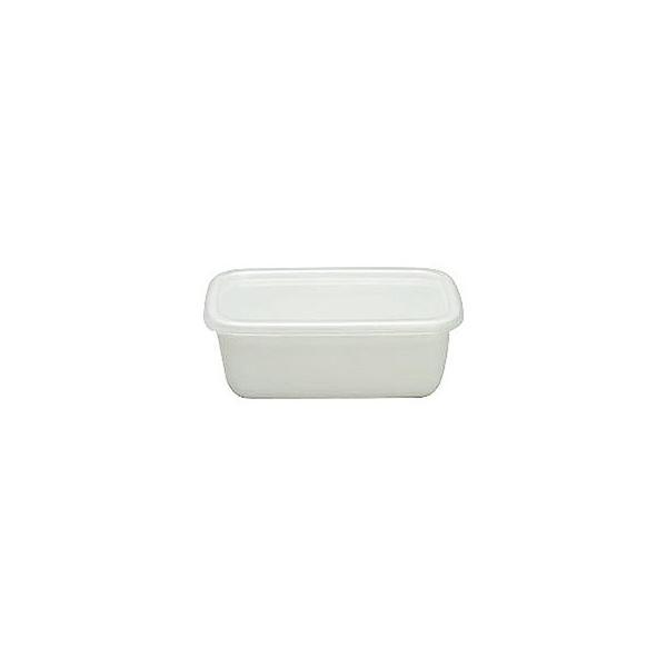 WhiteSeriesレクタングル深型Mシール蓋付WRF-M CD:475005|n-kitchen