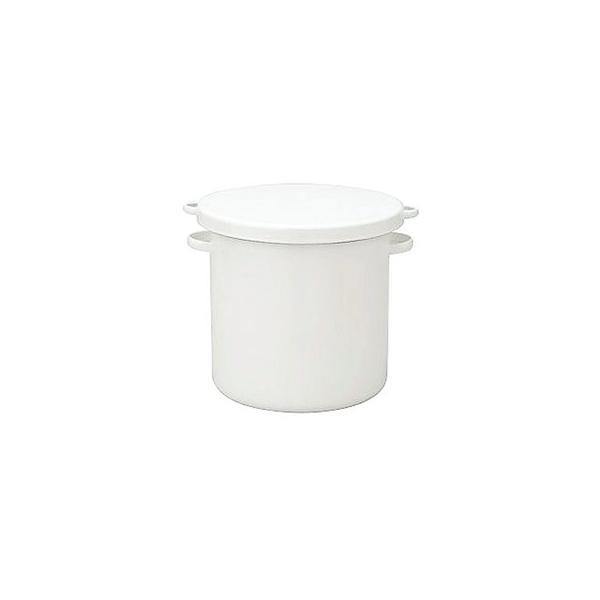 WhiteSeriesラウンドストッカー18cmWRS-18 CD:475036|n-kitchen