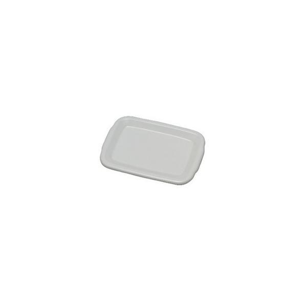 WhiteSeries琺瑯蓋レクタングル深型L用HFF-L CD:475020|n-kitchen