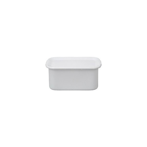 WhiteSeriesレクタングル深型LL琺瑯蓋付WFH-LL CD:475132|n-kitchen