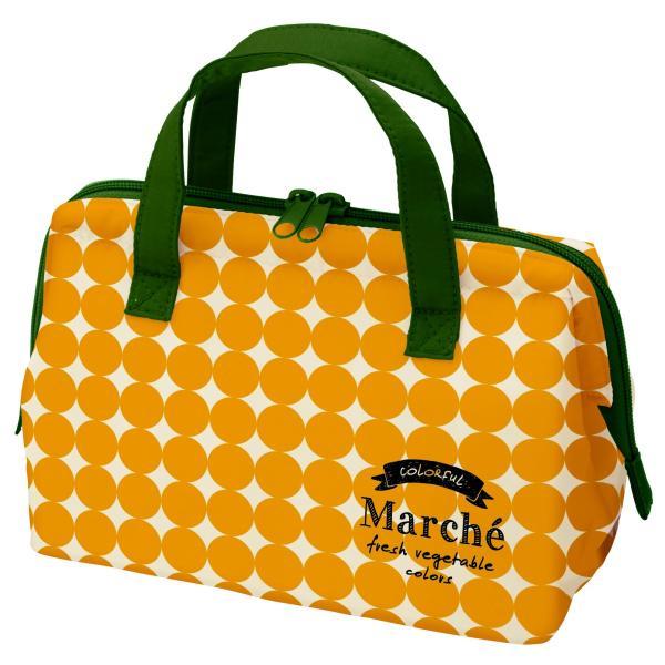 マルシェ がま口型ランチバッグ かぼちゃ KGA1 スケーター|n-kitchen