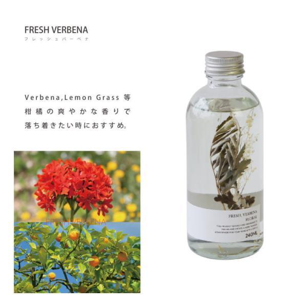 ハーバリウム ディフューザー フレッシュ バーベナ HERBALISM DIFFUSER FRESH VERBENA フレグランスオイル 芳香剤 スティック ガラスボトル