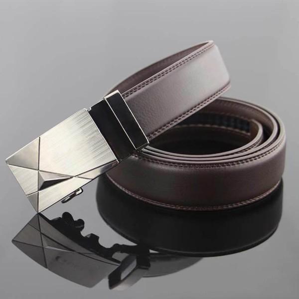 ベルト オートロック スライド式 レザー メンズ 牛革 本革ベルト 紳士 革 ブラック ブラウン メール便のみ送料無料2♪5月20日から31日入荷予定 n-martmens 04