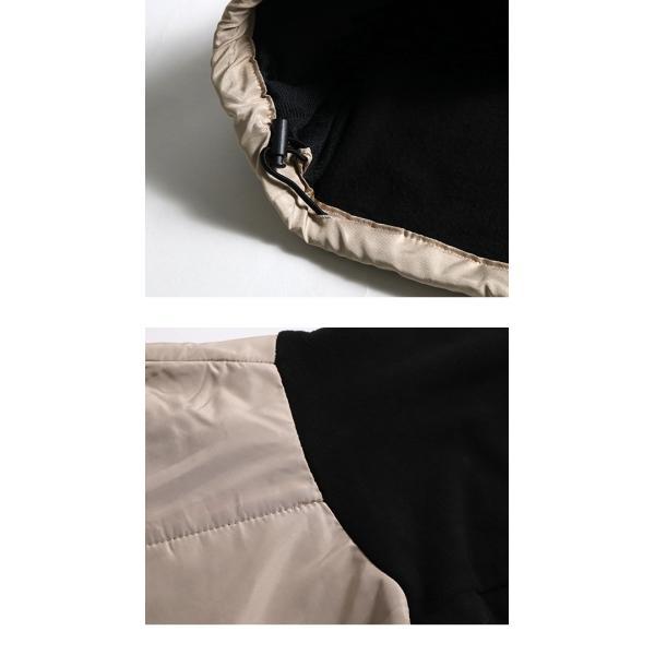 フリース ジャケット メンズ フリースジャケット 切り替え ジップ パーカー スタンドカラー アウトドア スポーツ アスレジャー 宅配便 n-martmens 14