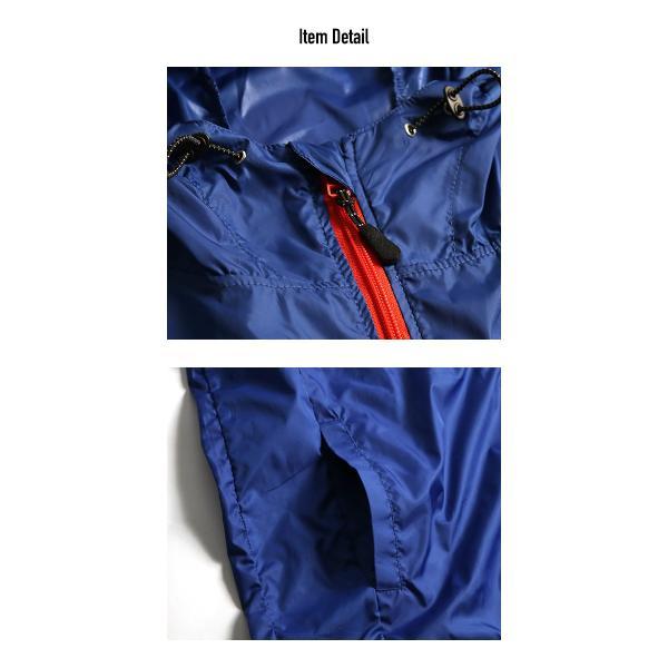 ナイロンジャケット メンズ ウインドブレーカー パッカブル フード 撥水 防風 コンパクト 携帯 メール便のみ送料無料2|n-martmens|19