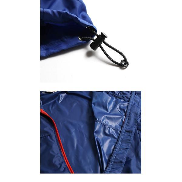 ナイロンジャケット メンズ ウインドブレーカー パッカブル フード 撥水 防風 コンパクト 携帯 メール便のみ送料無料2|n-martmens|20