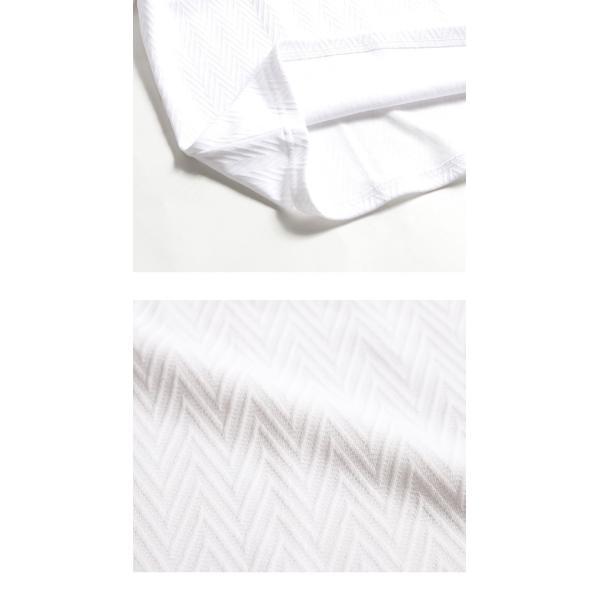 長袖Tシャツ メンズ カットソー 長袖 ロンT 無地 ジャガード おしゃれ きれい目 カジュアル メール便 送料無料|n-martmens|17