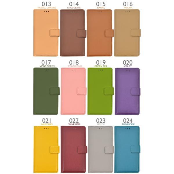 Xperia Z3 (SOL26/SO-01G/401SO) 専用ケース 手帳型(31色)合皮レザー スマホケース|n-style|05