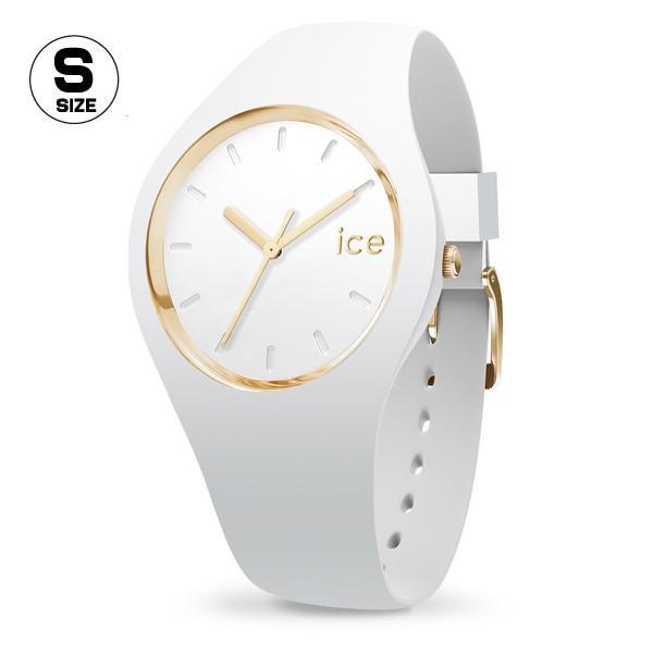 腕時計 アイスウォッチ ICE-WATCH ICE glam ホワイト スモール 3H レディース n-style