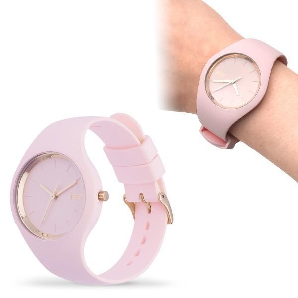 腕時計 アイスウォッチ ICE-WATCH ICE glam pastel ピンク レディ 40mm ミディアム レディースウォッチ n-style 03
