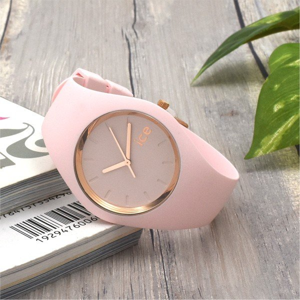 腕時計 アイスウォッチ ICE-WATCH ICE glam pastel ピンク レディ 40mm ミディアム レディースウォッチ n-style 04
