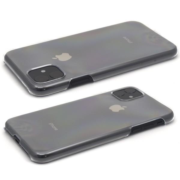 iPhone11 カバー ケース ハードケース クリア 透明 アイフォン11 ケース|n-style|02