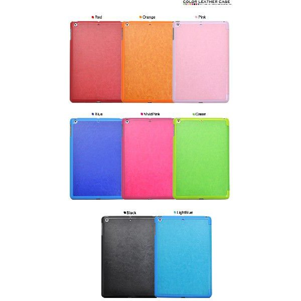 iPad Air 手帳型ケース スリープモード対応 スタンド付 カラバリ8色 n-style 03