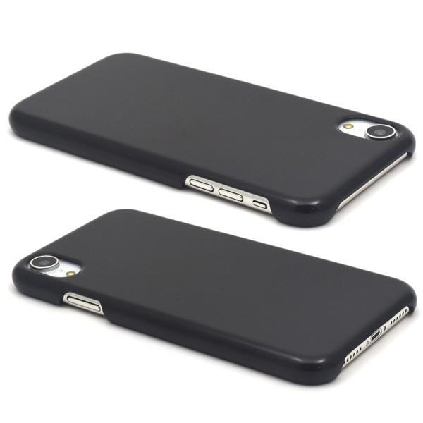 025bf5a487 ... iPhone XR ケース 黒 ブラック ハードケース アイフォン テンアール スマホケース n-style 02