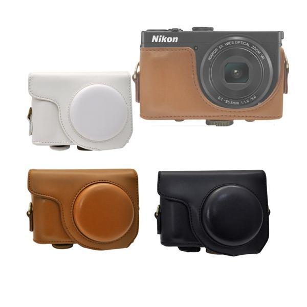 Nikon COOLPIX P330  カメラケース&ストラップセット パワーズームレンズ対応 デジタルカメラケース