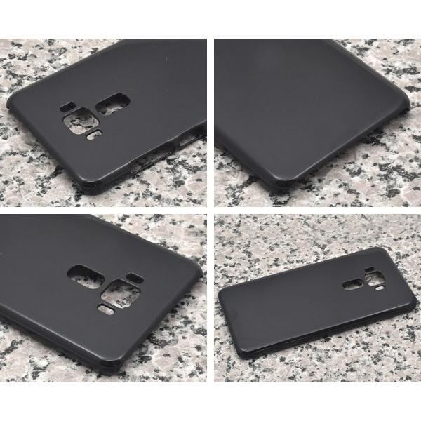 スマホケース ZenFone 3 ZE552KL用ハードブラックケース SIMフリー/シムフリー/激安/格安 スマートフォン|n-style|02