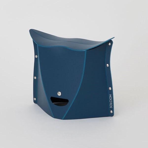 SOLCION 折りたたみ椅子 パタット250 PATATTO250 ネイビー 高さ25cm PT2503 ソルシオン n-tools 02