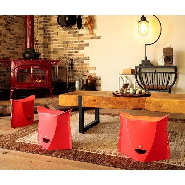 SOLCION 折りたたみ椅子 パタット250 PATATTO250 ネイビー 高さ25cm PT2503 ソルシオン n-tools 13