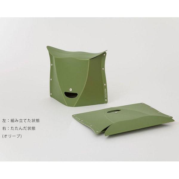 SOLCION 折りたたみ椅子 パタット250 PATATTO250 ネイビー 高さ25cm PT2503 ソルシオン n-tools 03