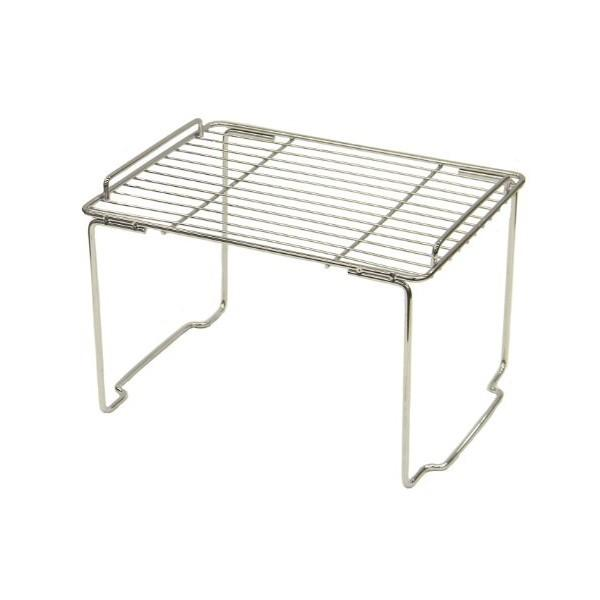 キッチンストレージミニ 積み重ね棚 H-7824 パール金属|n-tools