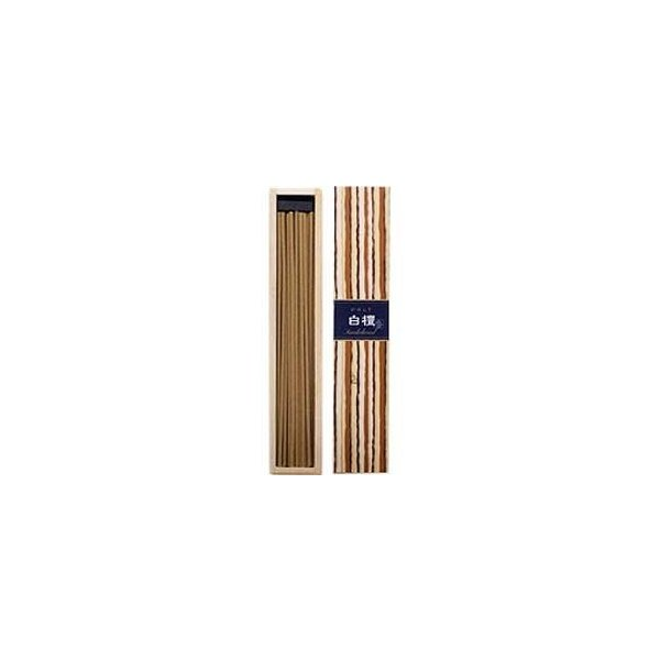 かゆらぎ白檀 40本 香立付 38405 日本香堂|n-tools