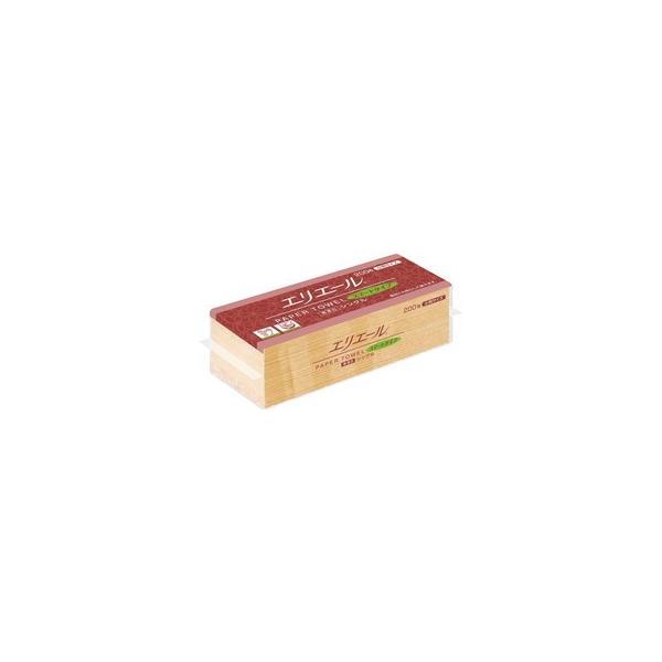エリエールペーパータオルスマート無漂白S200枚(小判)42束 CD:427126|n-tools