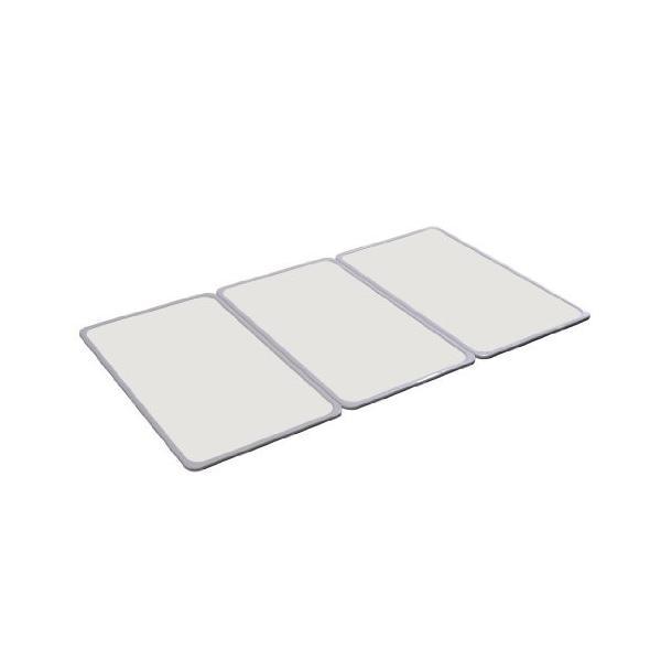 組合せ風呂ふた 抗菌・防カビ加工 3枚組 約73×118cm L-12 オーエ|n-tools