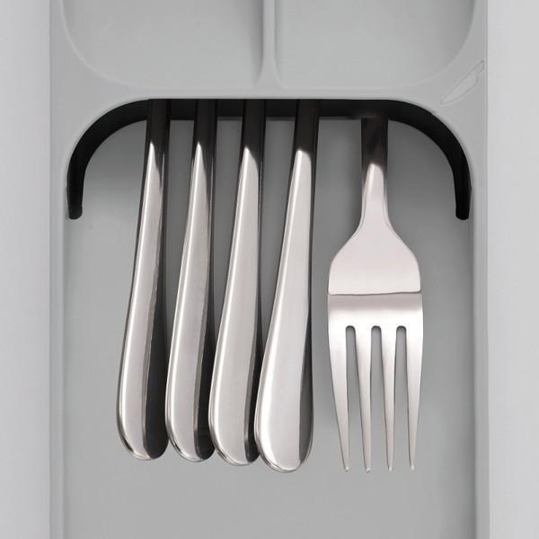 カトラリーケース コンパクト ドロワーオーガナイザー グレー 85119 ジョゼフジョゼフ(Joseph Joseph) n-tools 03