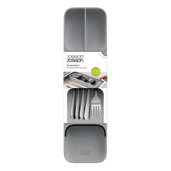 カトラリーケース コンパクト ドロワーオーガナイザー グレー 85119 ジョゼフジョゼフ(Joseph Joseph) n-tools 10