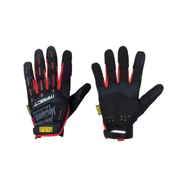 MECHANIX M-Pact ブラック/レッド L MPT52010|n-tools