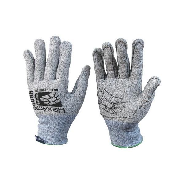 HEX ARMOR 耐切創手袋 ARMOR レベル6シリーズ 9009 L 754207 n-tools