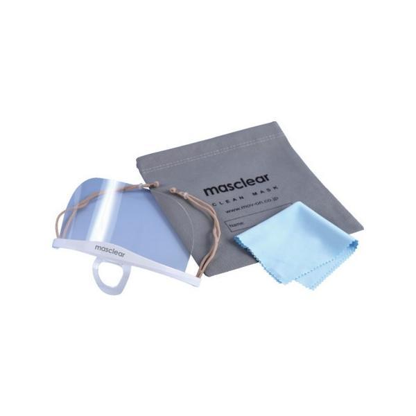 ム-ヴ・オン 透明衛生マスク マスクリアベーシックバンドル (5個入) M-BUNDLE-5 n-tools