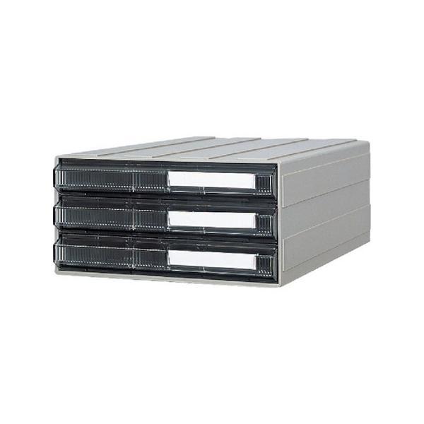 ビジネスカセッター A4タイプ 引出3段 サカセ A4243-3007|n-tools