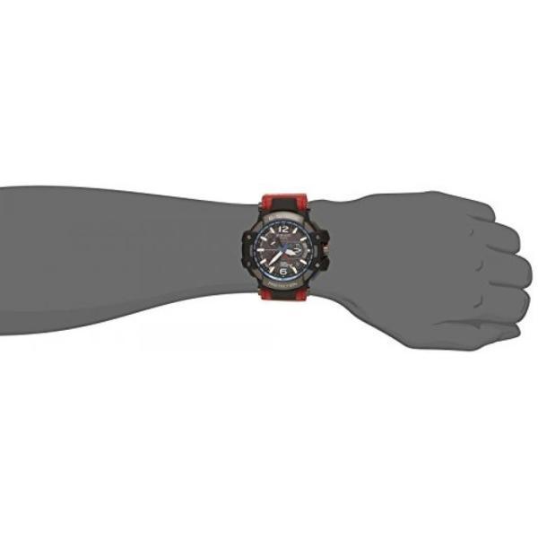 カシオ メンズウォッチ 腕時計 G-shock Casio G-Shock Gravitymaster Black Dial Red Resin Quartz Men's Watch GPW1000RD-4A|n2m-store|02