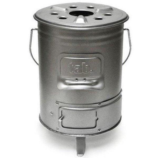 田中文金属 tab タブ マルチに使える 缶ストーブ 薪ストーブ 木炭コンロ コンパクトマルチオーブン 送料無料