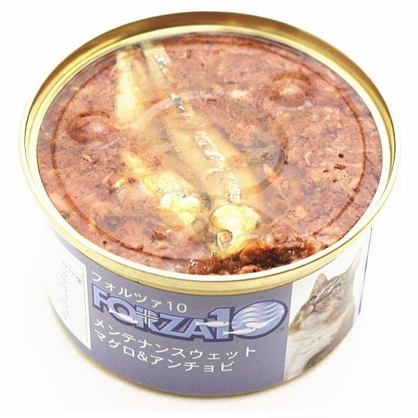 賞味期限2021.10・フォルツァ10 猫用 メンテナンス マグロ&アンチョビ 85g缶 FORZA10 正規品 fo11860 nachu 03