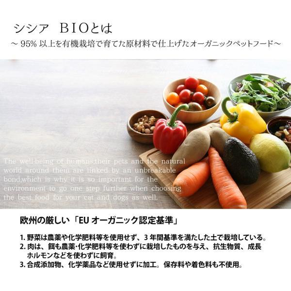 最短賞味2021.8・シシア 猫 BIOパウチ チキン 85g scc420総合栄養食オーガニックキャットフード|nachu|04