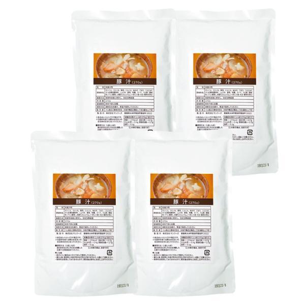 【まとめ買い10セット】豚汁4食 TJ19-20(日本製 レトルト食品) 内祝い 結婚内祝い 出産内祝い 景品 引き出物 お返し 贈答品 贈り物 ギフト