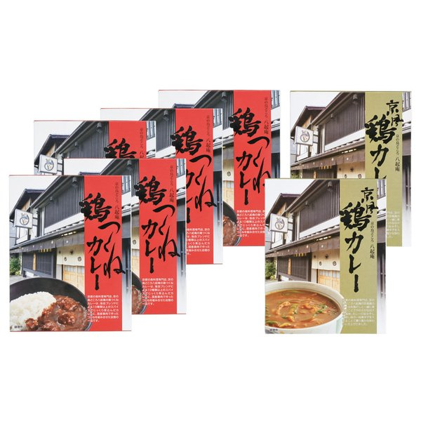 京都八起庵 鶏つくねカレーセット KHM-7(レトルトカレー レトルト食品) 内祝い 結婚内祝い 出産内祝い 景品 引き出物 お返し お歳暮 御歳暮 ギフト