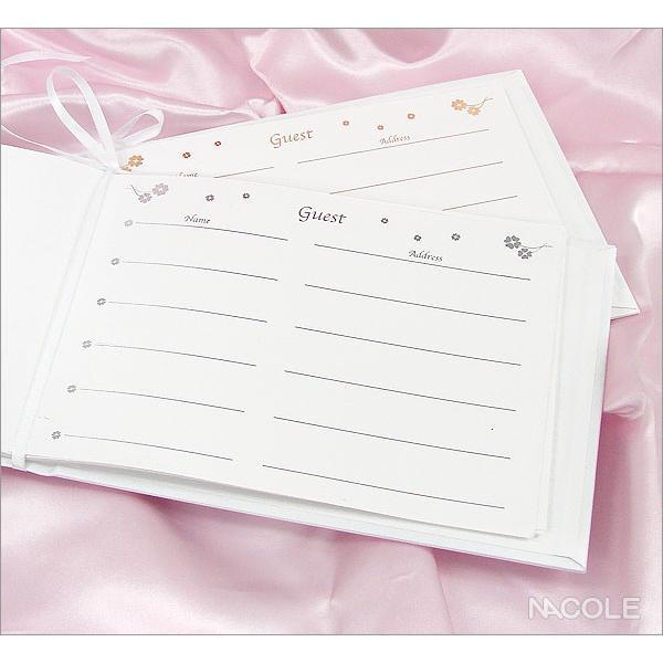 結婚式 ゲストブック 芳名帳 結婚内祝い 出産内祝い 贈答品 贈り物 お返し|nacole|02