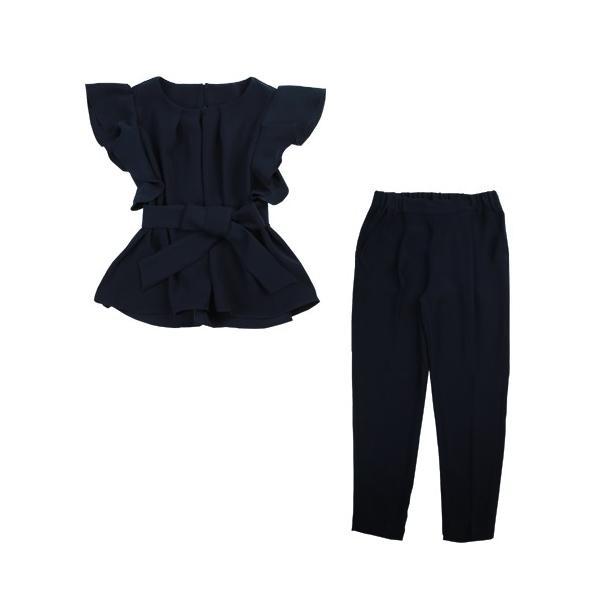 日本製セットアップパンツスーツ 2点セット セットアップ 七五三 入学式 スーツ ママ 卒業式 服 母 母親 30代 40代 おしゃれ|nadesiko|16