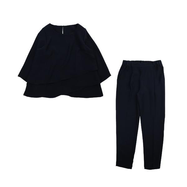 日本製セットアップパンツスーツ 2点セット セットアップ 七五三 入学式 スーツ ママ 卒業式 服 母 母親 30代 40代 おしゃれ|nadesiko|18