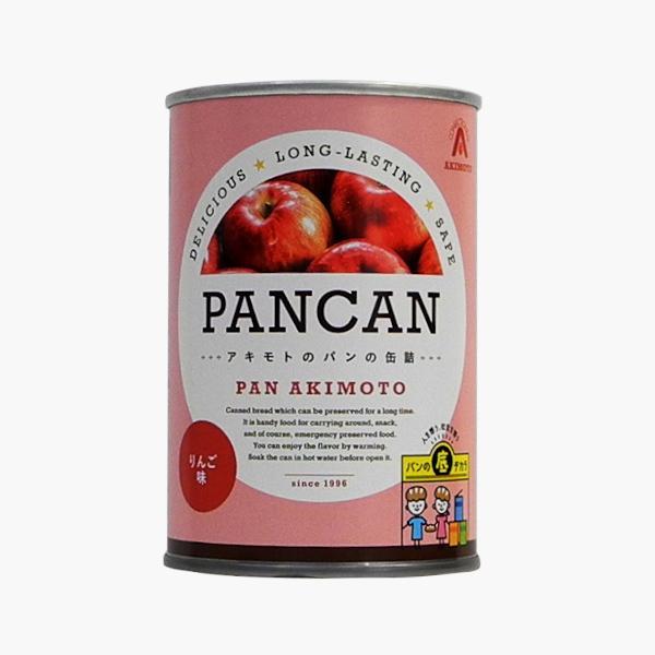 パンの缶詰 レギュラーシリーズ りんご味 24缶/箱 − パン・アキモト